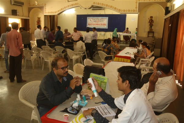 MIA Free Medical Check up camp at MIA